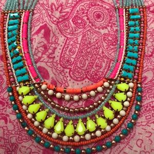 Jeweled Statement beaded necklace 💎